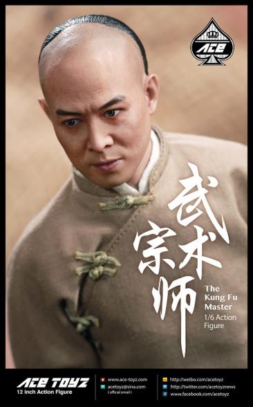 Ace Toyz At-006 Kung Fu Master 16 Jet Li Wong Fei-Hung Figure Set-5004