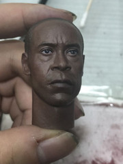 Burning Soul BS010  1/6 Scale Don Head Sculpt