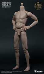 "WorldBox AT013 ""Dad Body"" 1/6 Scale Nude Figure Body"