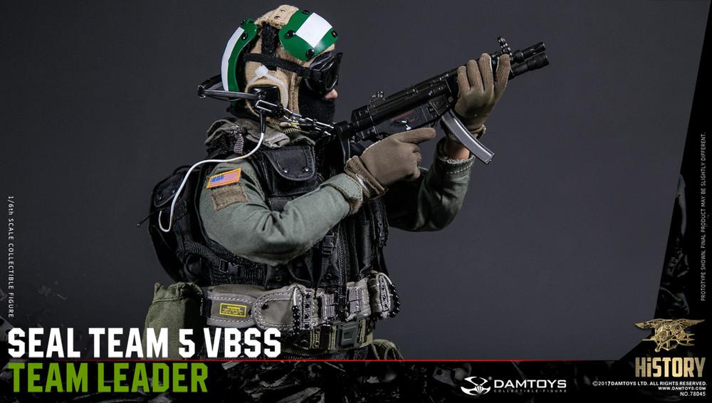 1//6 DamToys US Seal Team 5 VBSS Team Leader 78045 Action Figure Green Helmet DAM