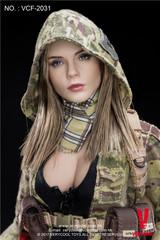 VERYCOOL VCF-2031 1/6 MC Camouflage Women Soldier Villa