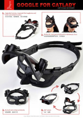 TOW FACE  1/6 scale Catwoman Goggle TF001