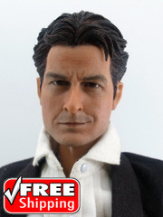 1/6 Male Action Figure Head Sculpt-Charlie