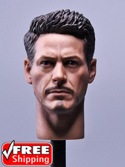 Custom 1/6 Scale Tony MK46 Head sculpt