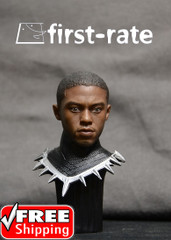 First Rate 1/6 scale action figure head sculpt-Black Male