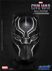 Killerbody Life Size 1:1 Captain America Civil War Black Panther Helmet
