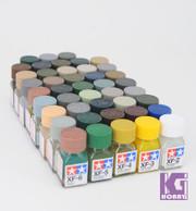 Tamiya Model Color Enamel Paint 10ml XF-1 - XF-85 80301-80385 Flat Matt series