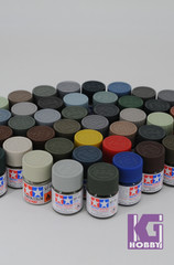 Tamiya Model Color Acrylic Mini Paint 10ml XF-1 to XF-87 81701 - 81790 Flat series