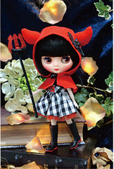 """Takara 8"""" NEO CWC Middie Blythe Doll Cute Little Dee Devil"""