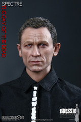 "BLACKBOX 1/6 GUESS ME SERIES ""SPECTRE"" THE DAY OF THE DEAD JAMES ACTON FIGURE"