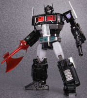 Transformers Masterpiece MP-10B Black Convoy Optimus Prime Action Figure with Limited Coin