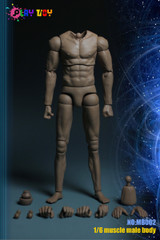 PLAY TOY MB002 1/6 Male Muscular Body