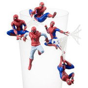 Ensky Puttitto Series Spider-Man Home Coming Cup Edge Figure Set of 5
