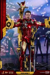 Hot Toys MMS462D22 Iron Man 2 Mark IV with Suit-Up Gantry 1/6th scale Diecast Collectible Figure
