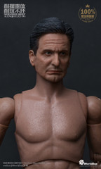 "WorldBox AT023 ""Old Michael"" 1/6 Scale Durable Figure Body + Head Sculpt"