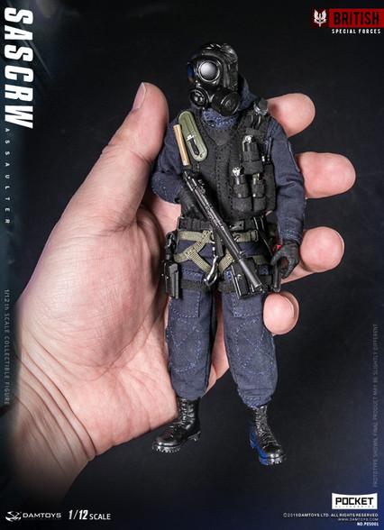 Damtoys Pes001 Sas Crw Assaulter 112 Pocket Elite Series Action Figure-8776