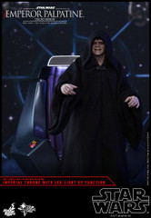 Hot Toys MMS468 Emperor Palpatine Star Wars: Episode VI Return of the Jedi 1/6th scale (Deluxe Version) Collectible Figure