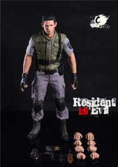ZC TOYS Zombie Police Officer 1/6  Action Figure Set