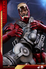 Hot Toy QS011 Iron Man  Mark III 1/4th scaleI Collectible Figure