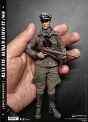 DAMTOYS PES003 1/12 POCKET ELITE SERIS WWII Panzer-Division Das Reich