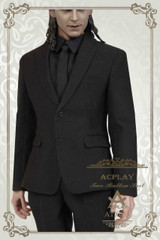 Acplay ATX033 1/6 Scale Black Suit + Shoes Set