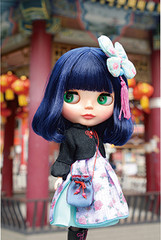 Takara Neo Blythe Pretty Peony Doll Figure