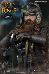 Asmus Toys LOTR018 The Lord of the Rings Series: Gimli 1/6 Action Figure
