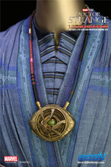 KIllerbody 1:1 Doctor Strange Eye of Agamotto Necklace Life Size Props