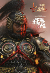 INFLAMES IFT-033 Zhang Yide 張飛 Sets Of Soul Of Tiger Generals 1/12 Figure Standard Version