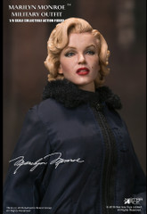 Star Ace Toys SA0055 1/6 Marilyn Monroe Military Outfit Collectible Figure