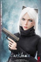 VERYCOOL VCF-2033B 1/6 Catch Me Female Assassin Figure (head sculpt with scar)