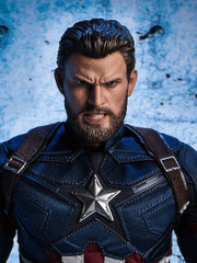 ZCTOYS T-07 Angry Captain 1/6 Scale Head Sculpt