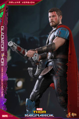 Hot Toys MMS445 Thor Ragnarok 1/6th scale Gladiator Thor (Deluxe Version) Collectible Figure