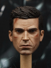 1/6 Scale Male Head Sculpt - AK Bruce Battle Damaged