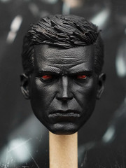 1/6 Scale Male Head Sculpt - AK Bruce Black Version