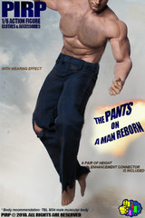 PIRP 1/6 Scale Male Pants for muscular body