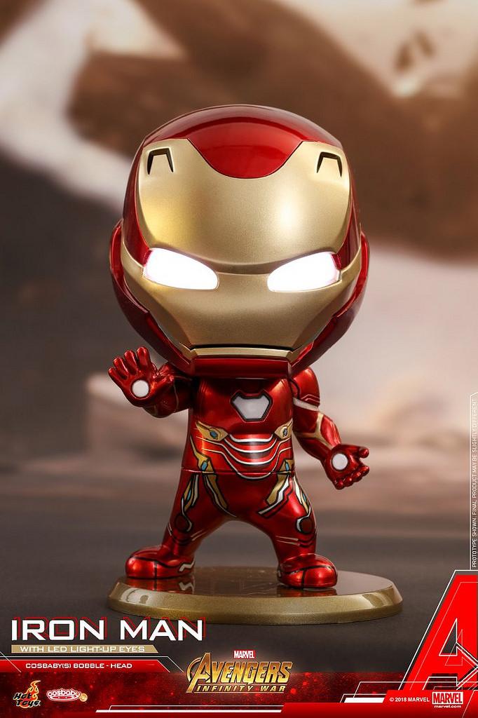 Hot Toys Cosbaby Bobble Head Cosb430 Iron Man Mark Mark L Avengers