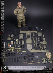 DAMTOYS 78059 8th Anniversary Edition: 1/6 RUSSIAN SPETSNAZ MVD SOBR LYNX