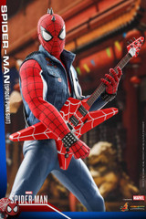 Hot Toys VGM32 Marvel's Spider-Man- 1/6th scale Spider-Man (Spider-Punk Suit) Collectible Figure