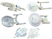 F-Toys Star Trek Star Fleet Collection U.S.S. Enterprise Complete Set