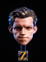 Z 1/6 Scale Male Cartoon Head with Glasses #2