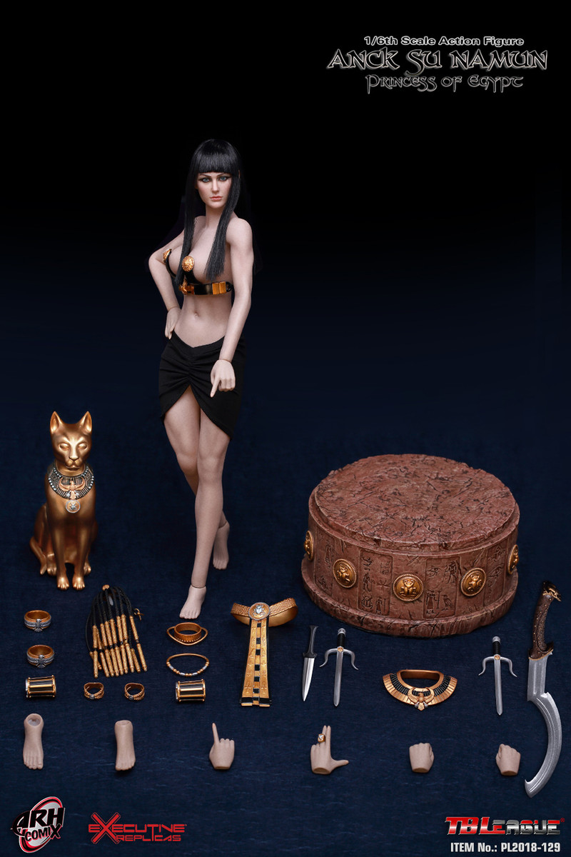 1//6 Scale-PHICEN Action Figures Anck su namon-Female Seamless Nude Body