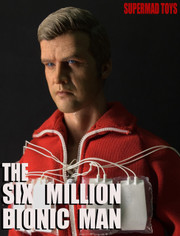 SUPERMAD TOYS The Six Million Bionic Man 1/6 Custom Figure