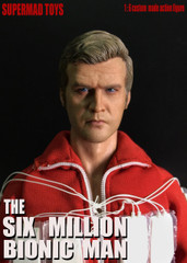 SUPERMAD TOYS The Six Million Bionic Man 1/6 Figure Head