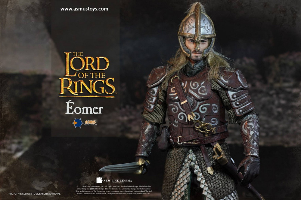 The Lord of the Rings Eomer Figure LOTR011 1//6 Asmus Toys Action Figure