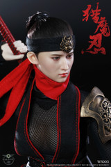 WAR STORY WS003 Female Ninja 1/6 Action Figure