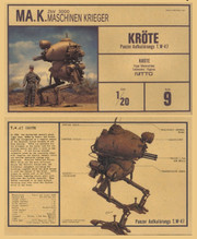 NITTO Ma.k MAK SF3D MK-9 1/20 KROTE T.W-47 MODEL KIT
