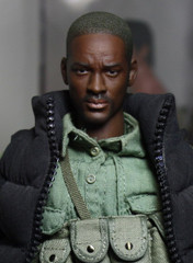 Loading Toys 1/6 Figure Head Sculpt-Will Smith with Gas Tank Set
