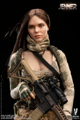 VERYCOOL VCF-2037A 1/6 A-TACS FG Double Women Soldier - JENNER (A Style)