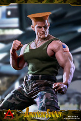 Acplay ATX044 1/6 Scale Street Bruiser American Soldier Two Head & Costume Set